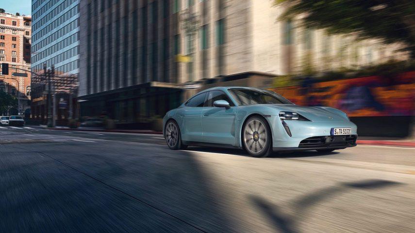 Porsche Taycan 4S, versión de acceso al super sedán eléctrico
