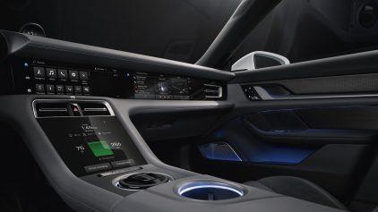Porsche Taycan Interior Teaser 2
