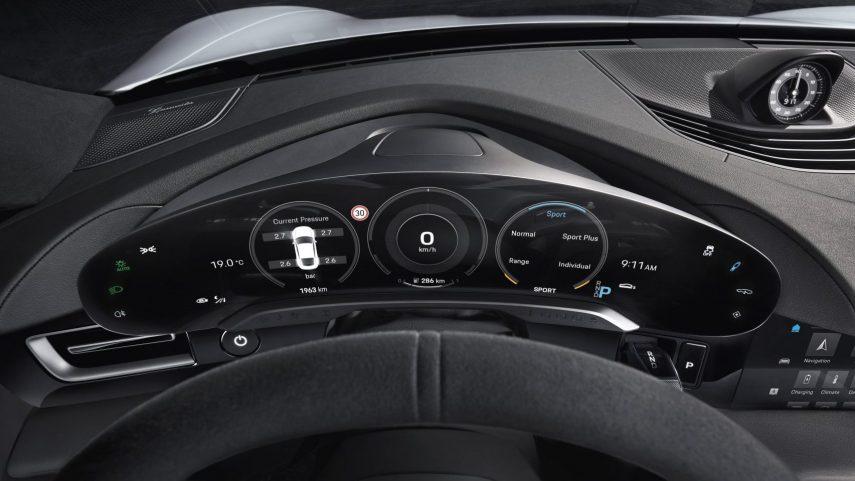 El Porsche Taycan nos muestra su interior definitivo