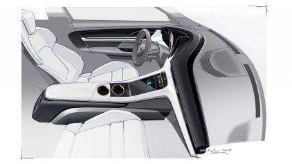 Porsche Taycan Interior Teaser 4