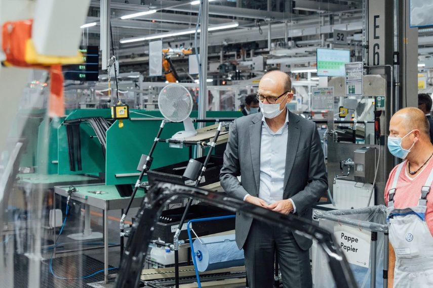 El Volkswagen ID.4 entra a producción en Zwickau