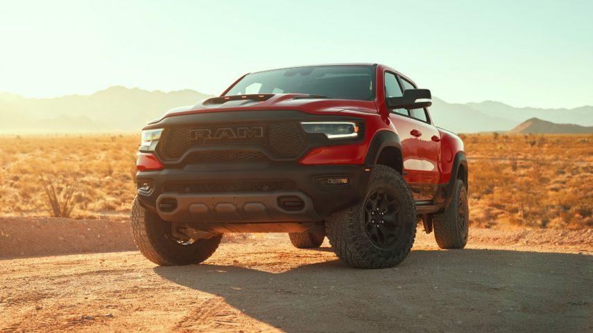 El pick-up 2021 RAM 1500 TRX se convierte en el más potente del mercado