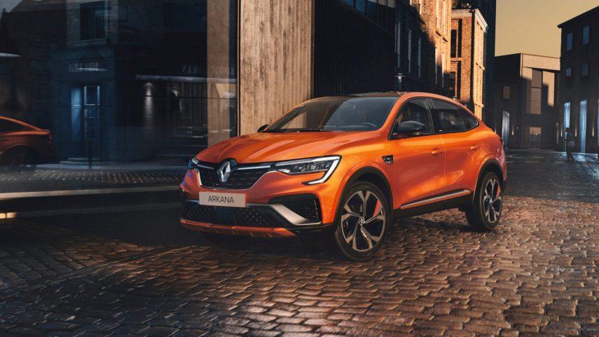 La versión europea del Renault Arkana ya está lista y llega totalmente electrificada