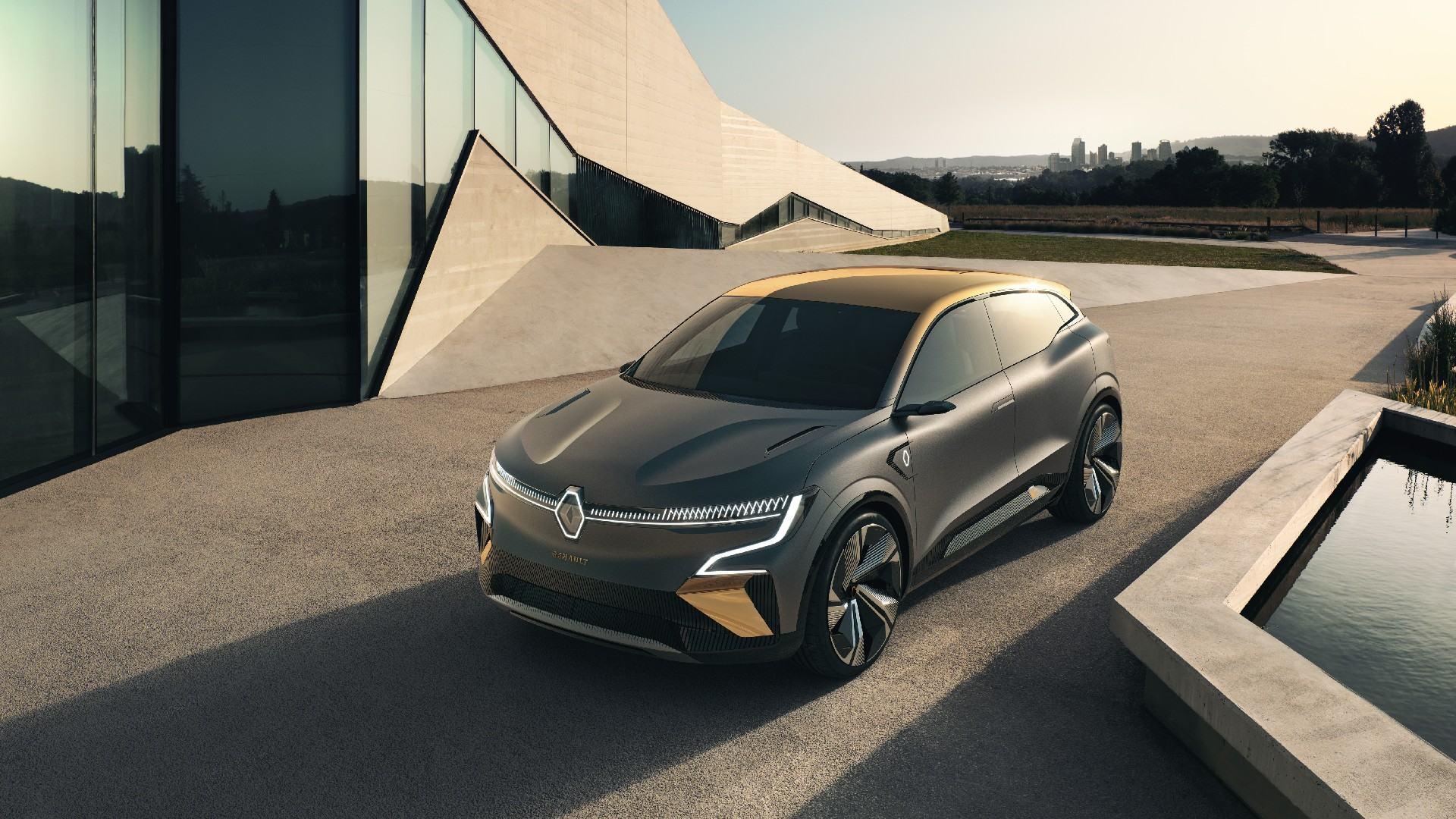 El Renault Mégane eVision adelanta la próxima generación del compacto francés