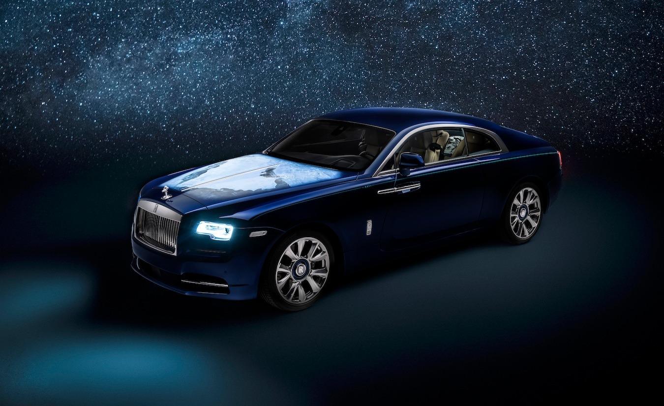 Rolls-Royce Wraith Inspired by Earth, una creación exclusiva a petición de la división de Abu Dhabi