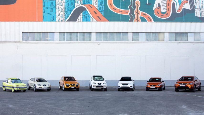La historia de los SUV de SEAT, de los prototipos a los concesionarios