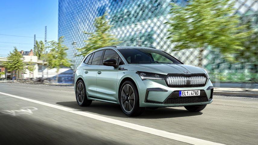 Škoda Enyaq iV, así es el primer coche basado en el plataforma MEB de la firma checa