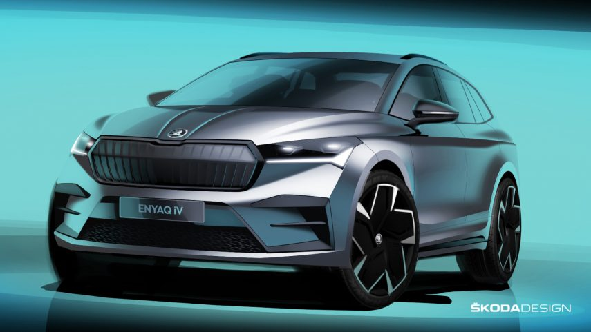 Škoda revela el diseño definitivo del Enyaq iV