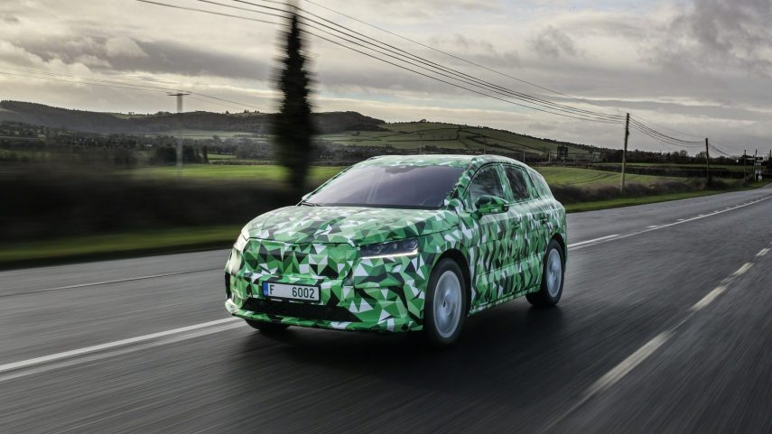 Škoda Enyaq iV, el primer SUV eléctrico de la firma checa llega a finales de 2020