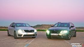 Skoda Octavia Combi RS 2019 vs 2017 2