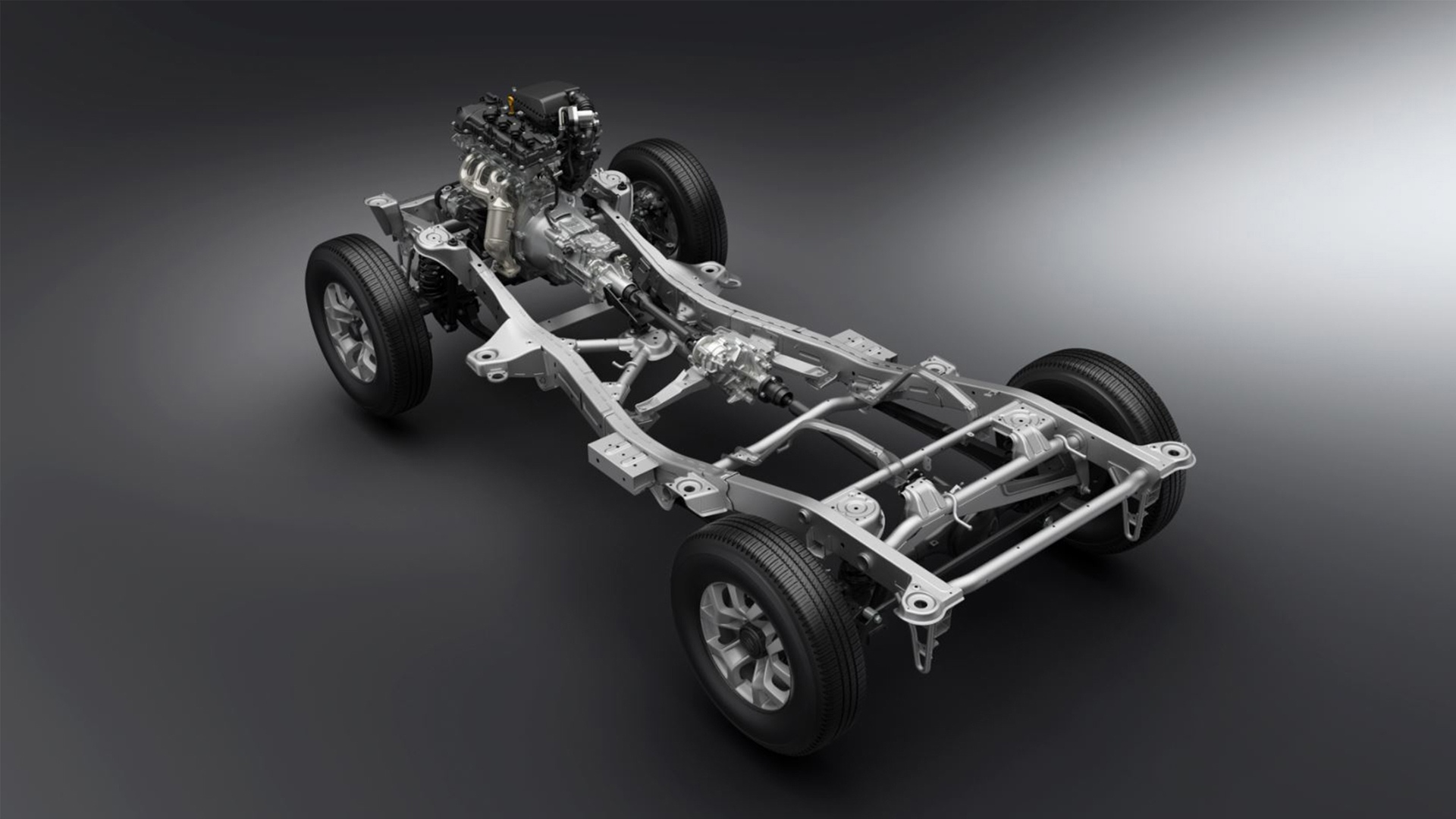 Suzuki Jimny chasis 2019