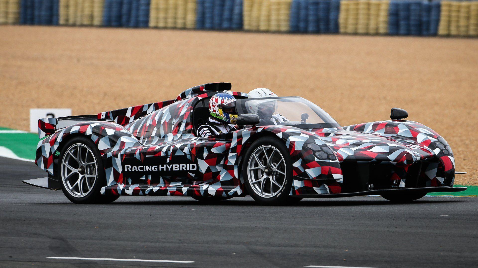 El Toyota GR Super Sport se deja ver en el circuito de La Sarthe
