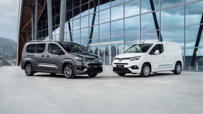 Ya se puede encargar el Toyota PROACE City en España