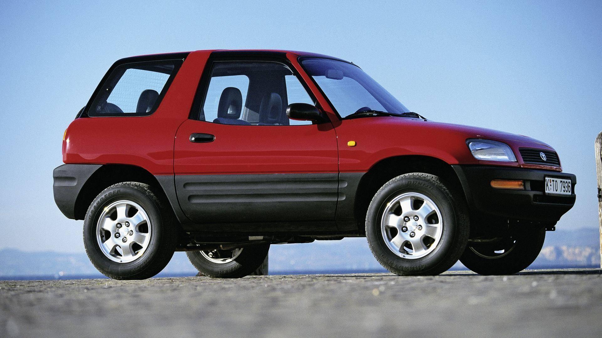 Toyota RAV4, 25 años de un concepto original