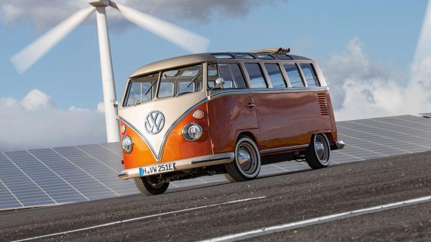 Volkswagen e-BULLI, una T1 con motor eléctrico