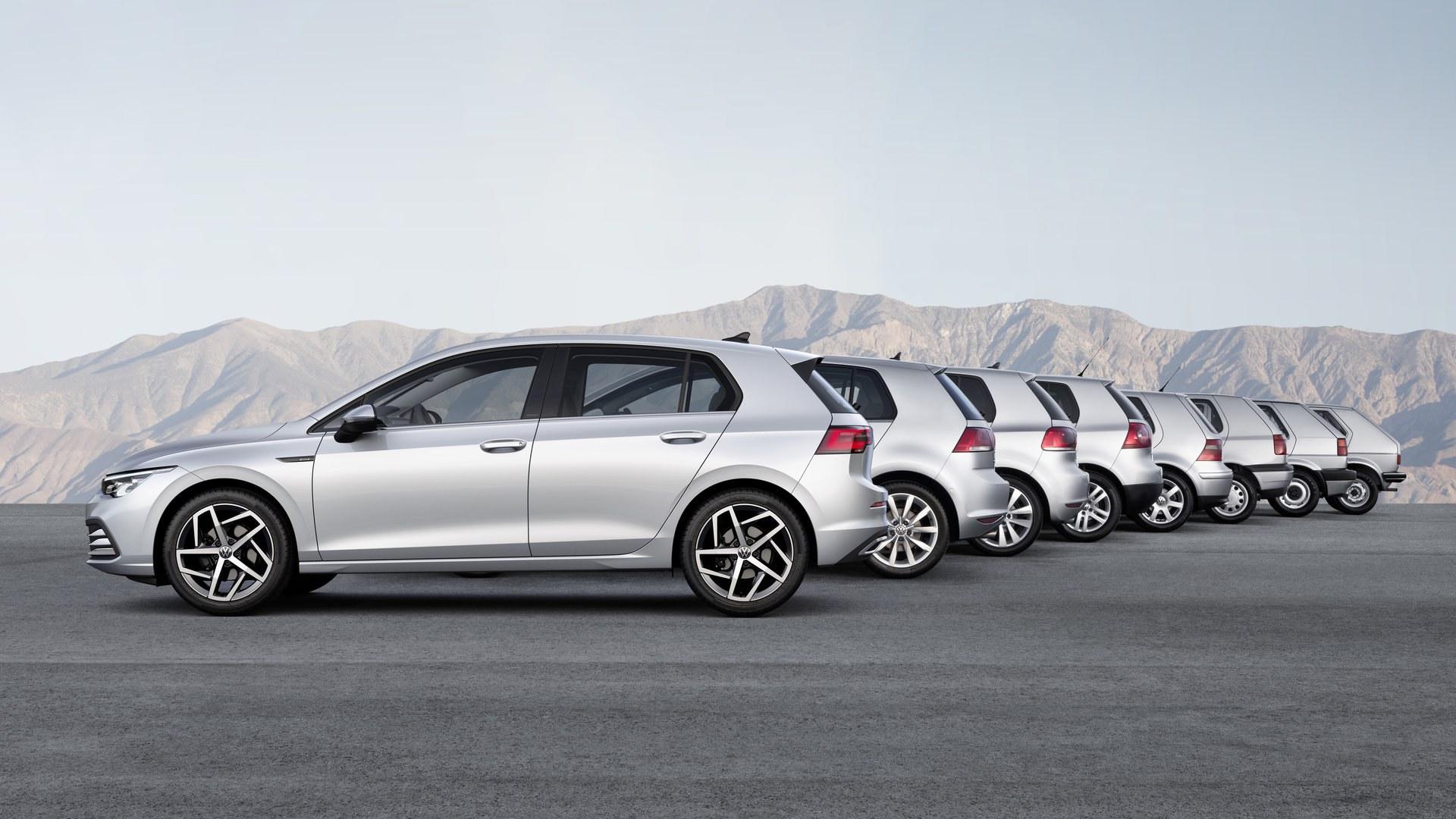 Aquí está nuevo Volkswagen Golf 2020