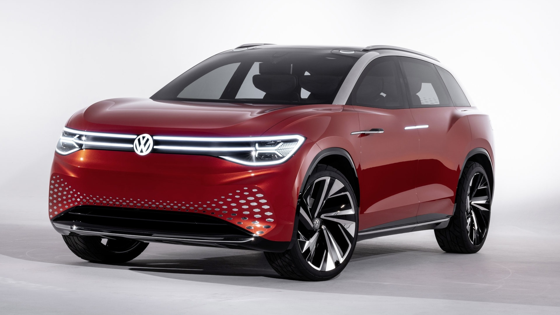 Volkswagen ID. ROOMZZ, un SUV eléctrico, grande y espacioso