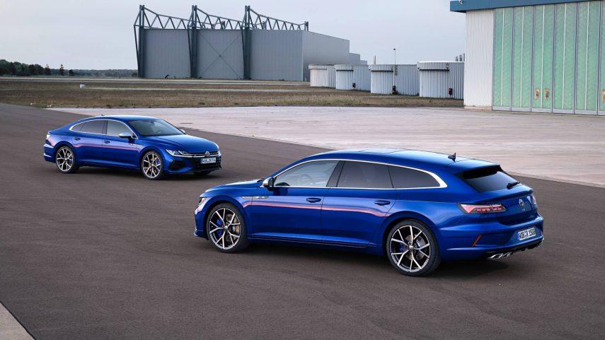 El restyling del Volkswagen Arteon estrena nueva carrocería y versión híbrida enchufable