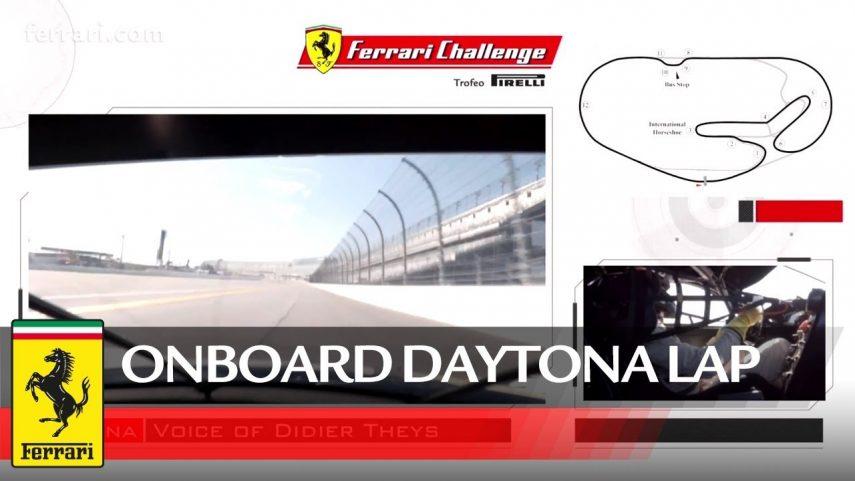 Vuelta a Daytona a bordo de un Ferrari 488 Challenge