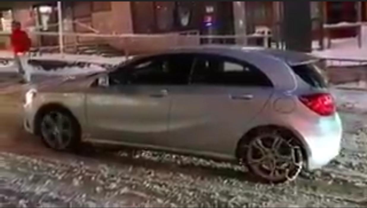 Cuando te compras un Mercedes…