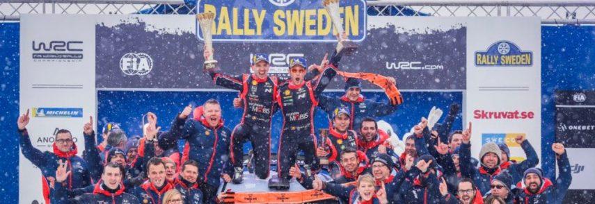WRC: Resultados del Rally de Suecia 2018