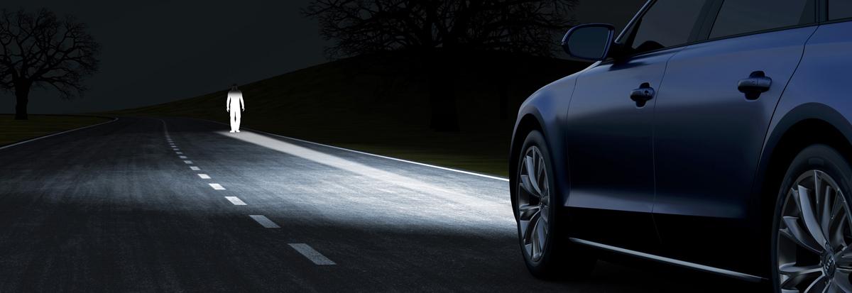 El sistema de iluminación en automóviles