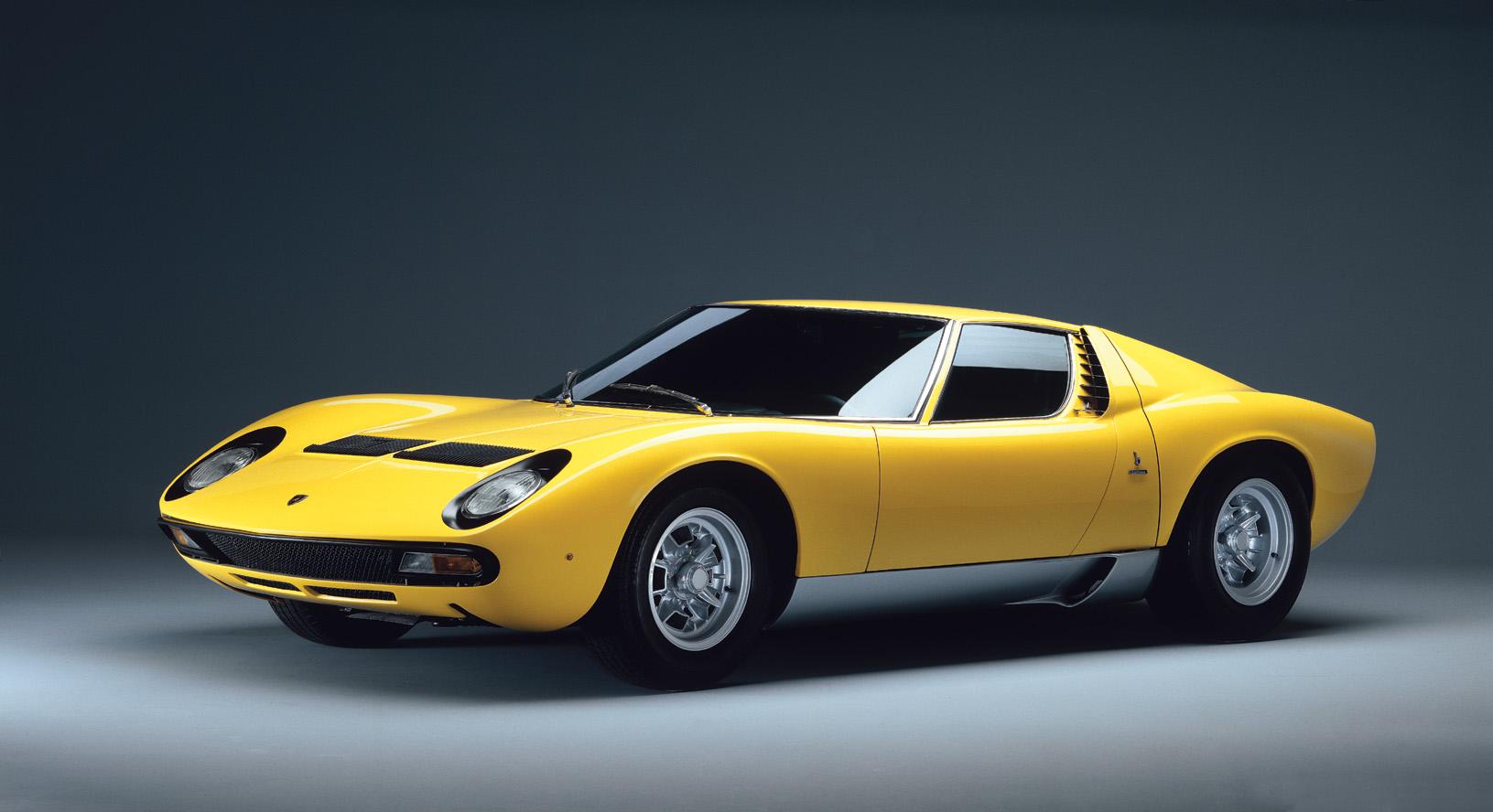 Coche del día: Lamborghini Miura