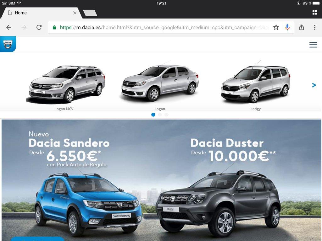 Oferta Dacia
