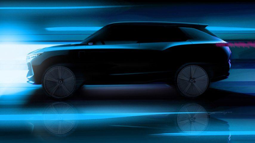 SsangYong se apunta a la movilidad eléctrica con el e-SIV Concept