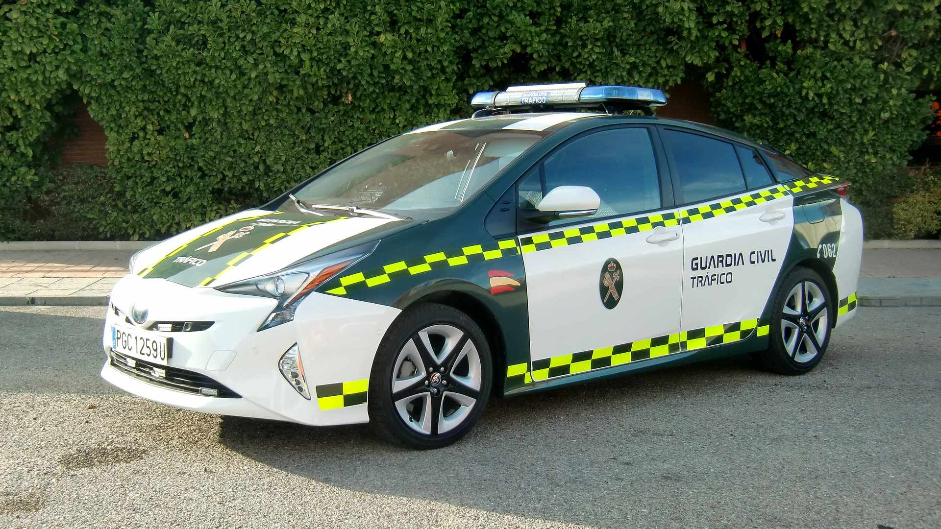 Toyota Prius Guardiacivil 1