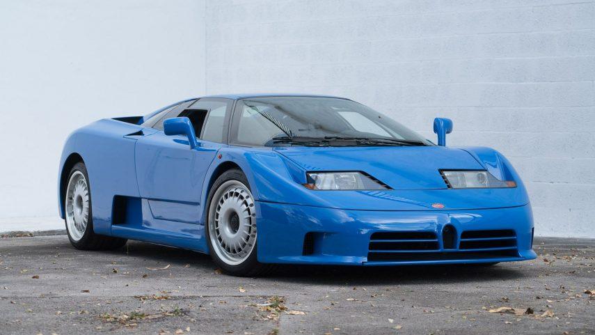 Coche del día: Bugatti EB110 GT