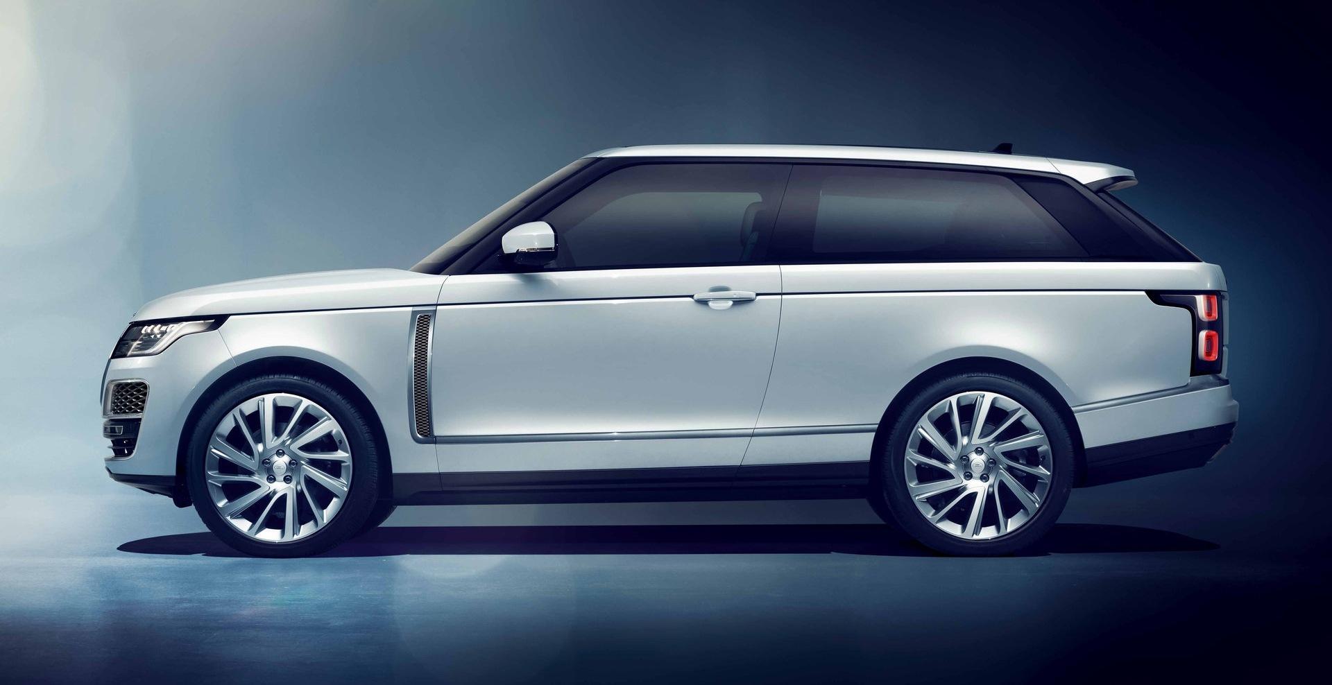 Jaguar Land Rover dice no al Range Rover SV Coupé