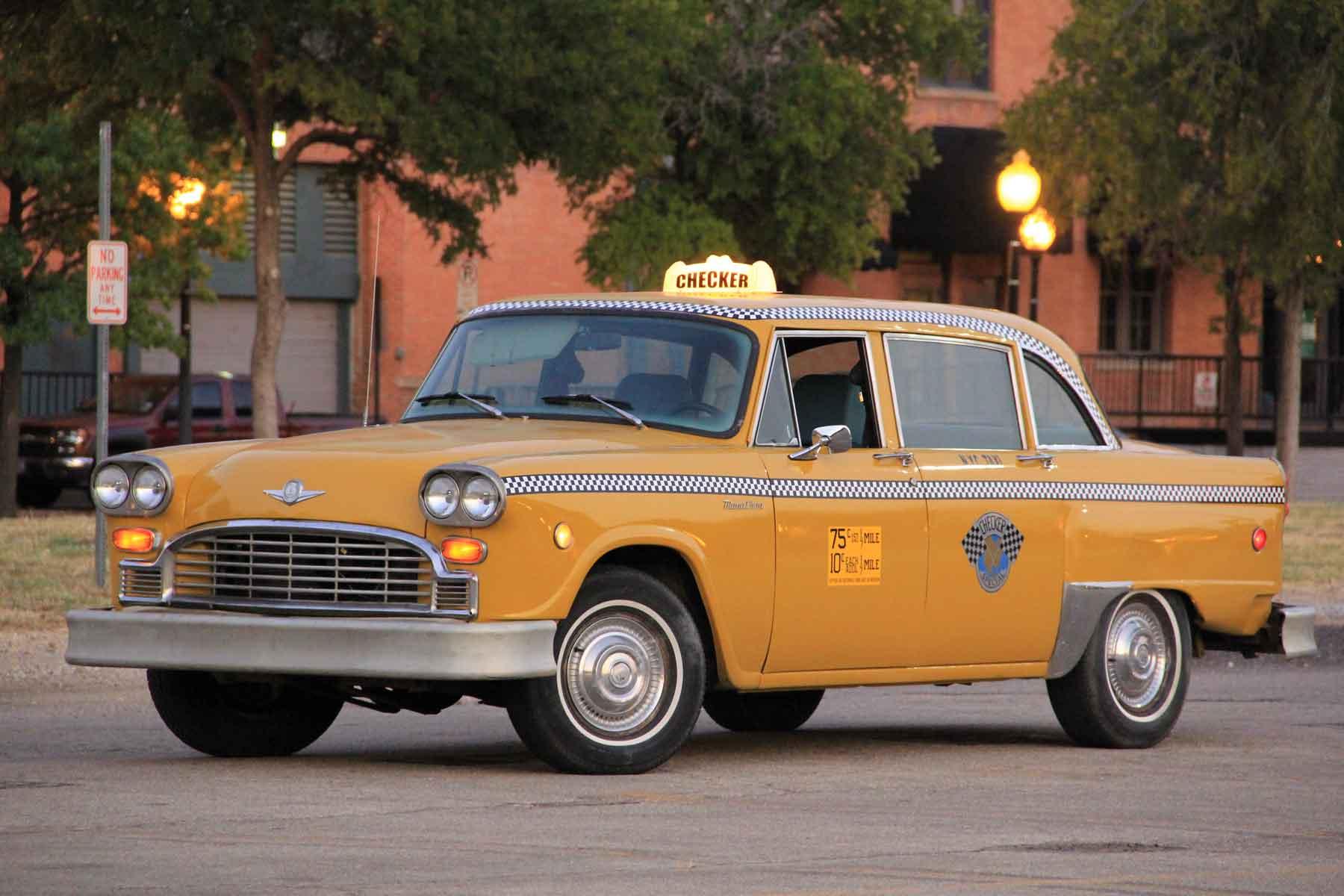 Coche del día: Taxi Checker