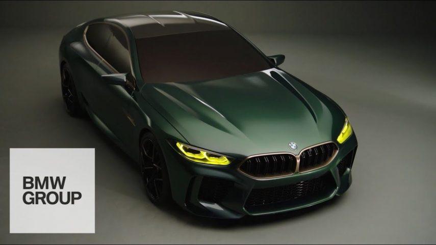 BMW Concept M8 Gran Coupé, un salto de diseño