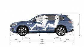 VW Touareg 2018 Cotas