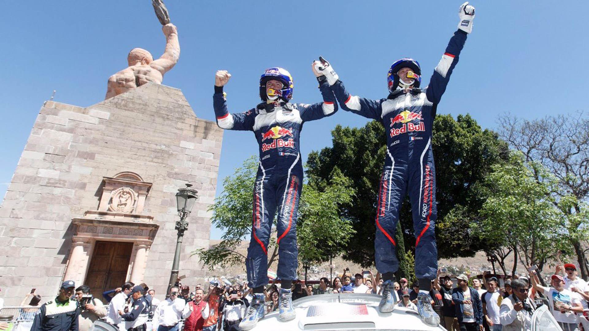 Ogier gana el Rally de México y Sordo queda segundo