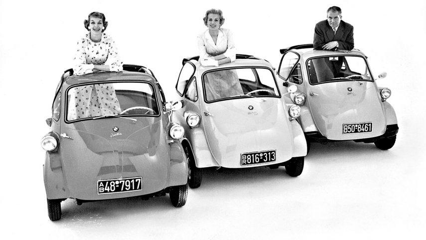 Coche del día: BMW Isetta