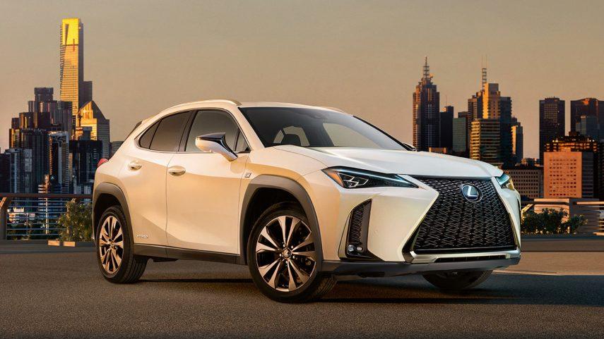 Lexus registra la denominación UX 300e