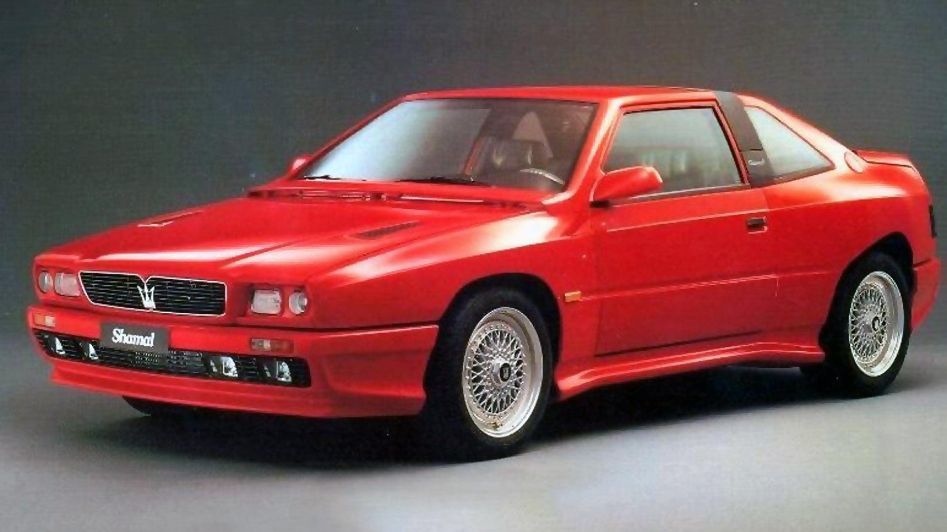 Coche del día: Maserati Shamal Prototipo