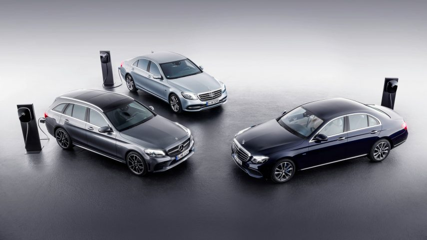 Mercedes E220d plug-in diesel hybrid