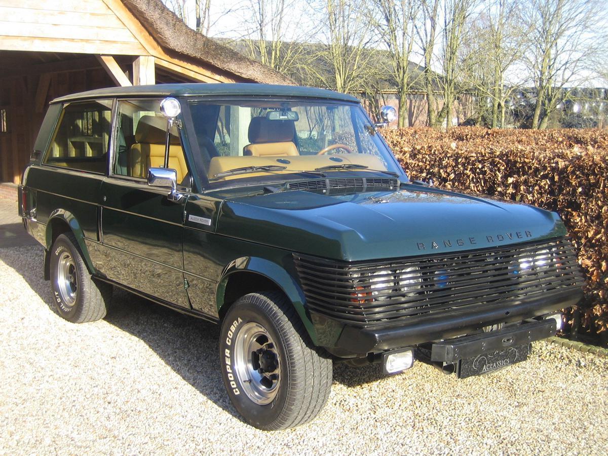 Range Rover blindado de Juan Carlos I