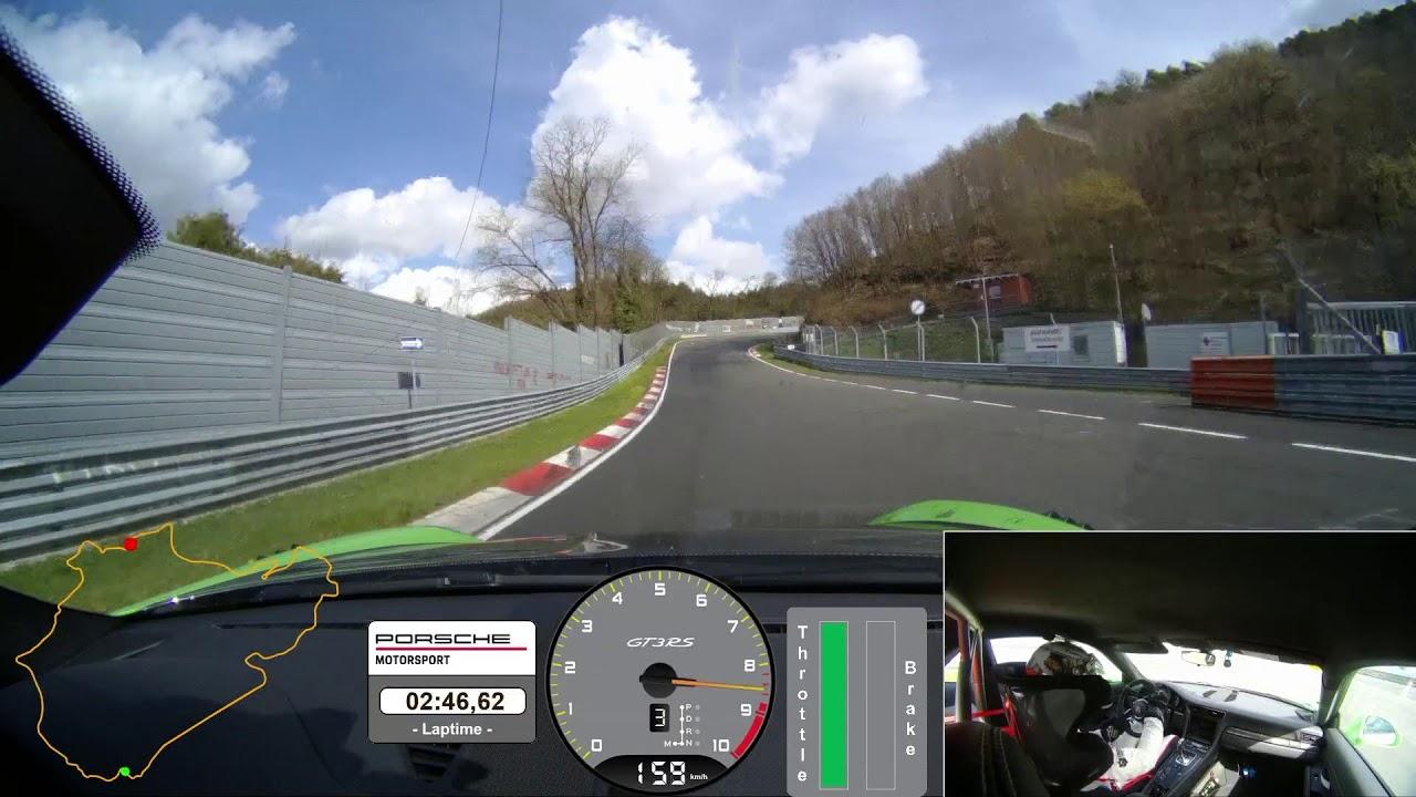 El Porsche 911 GT3 RS da una vuelta a Nürburgring en menos de 7 minutos