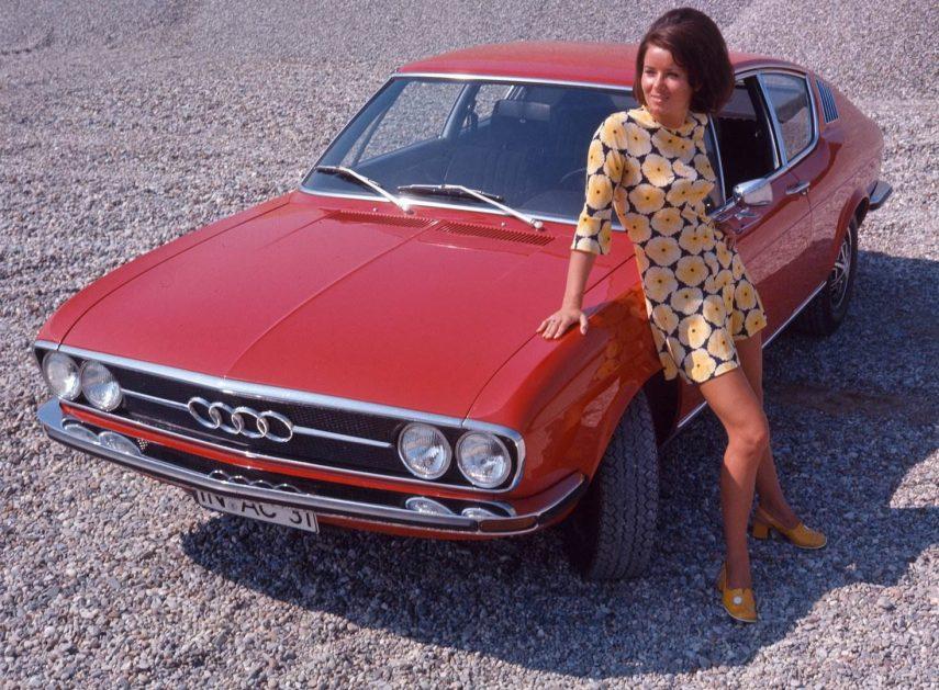 El Audi 100 cumple 50 años
