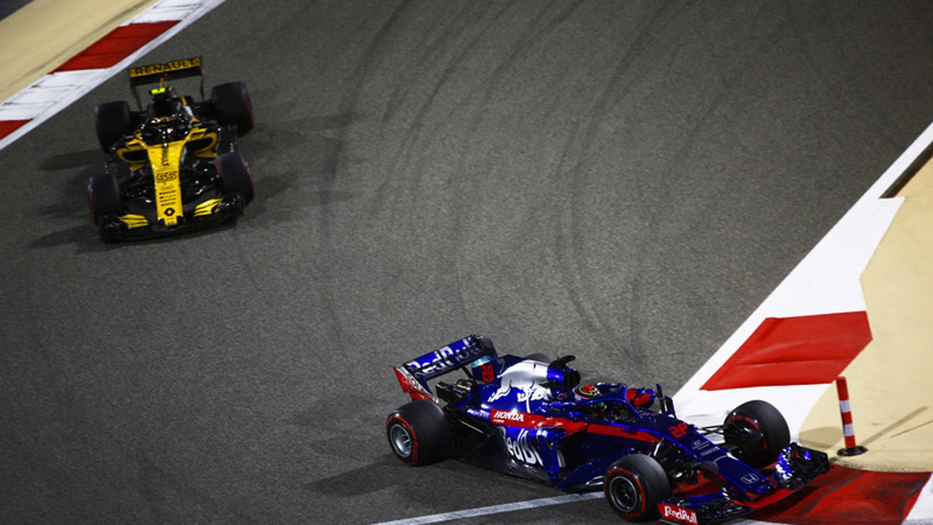 Carlos Sainz Bahrein F1 2018
