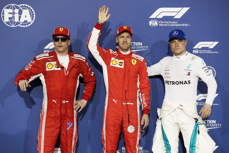 F1 2018 Bahrein Clasificacion