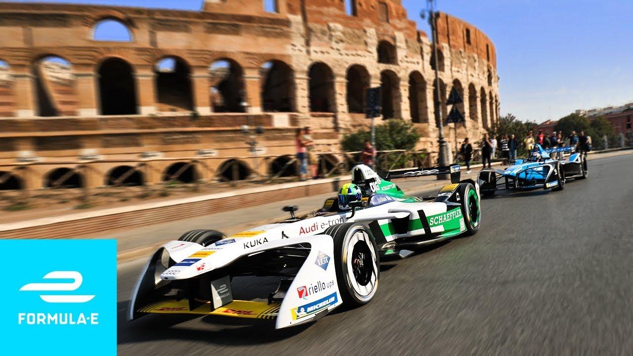 La Fórmula E llega a Roma