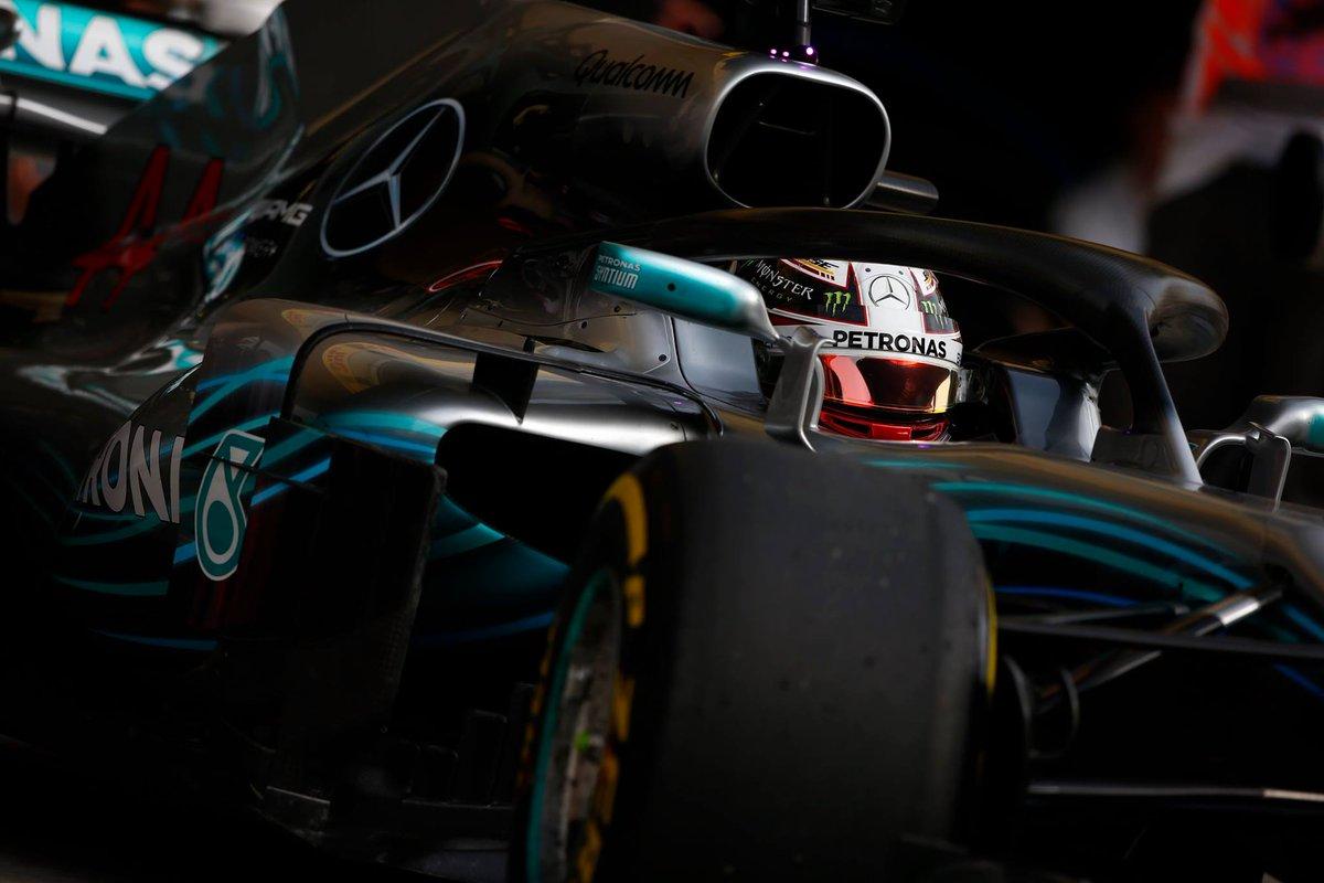 Mercedes F1 Bahrein 2018