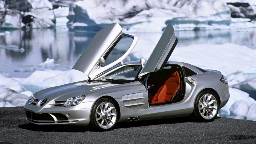 Coche del día: Mercedes-Benz SLR McLaren