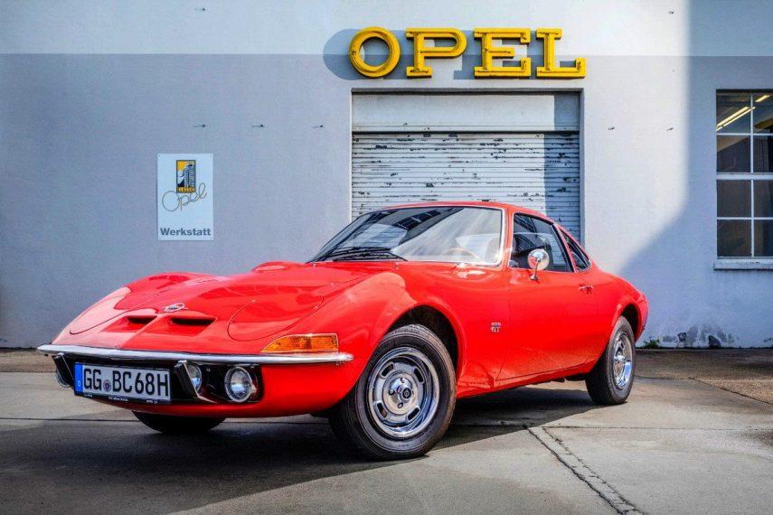 Coche del día: Opel GT