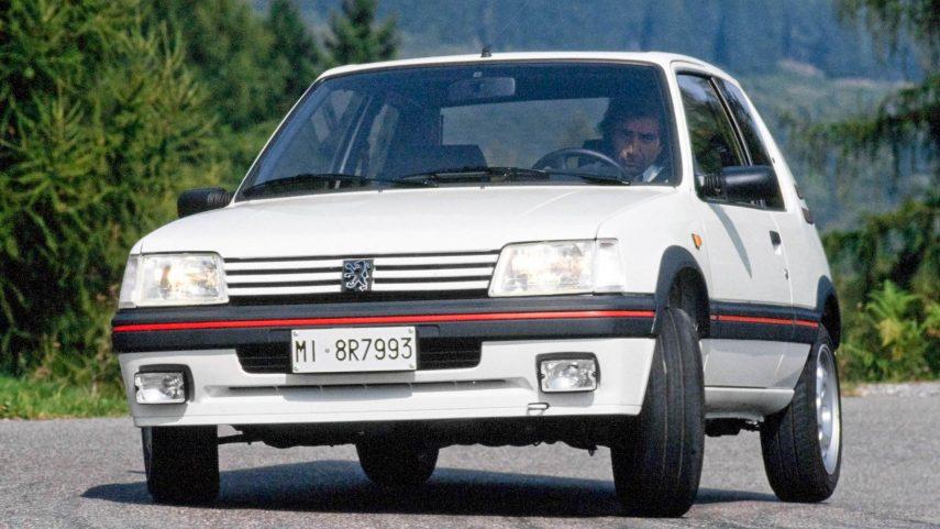 Coche del día: Peugeot 205 GTI